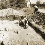 Batina - Archaeological excavations on a section of the fort (Konzervatorski odjel u Osijeku 1970)