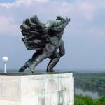 Batina - A part of the Batina battle Monument by Antun Augustinčić (Vukmanić 2012)