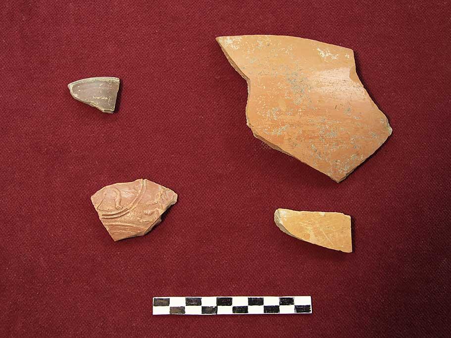 Batina - Pieces of ceramic vessels (Vukmanić 2013)