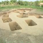 Zmajevac (Mocsolás) - Section of Late Roman necropolis (Filipović 2005)