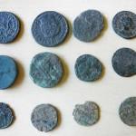 Kneževi Vinogradi - Coins found by fieldwalk (Vukmanić 2013)