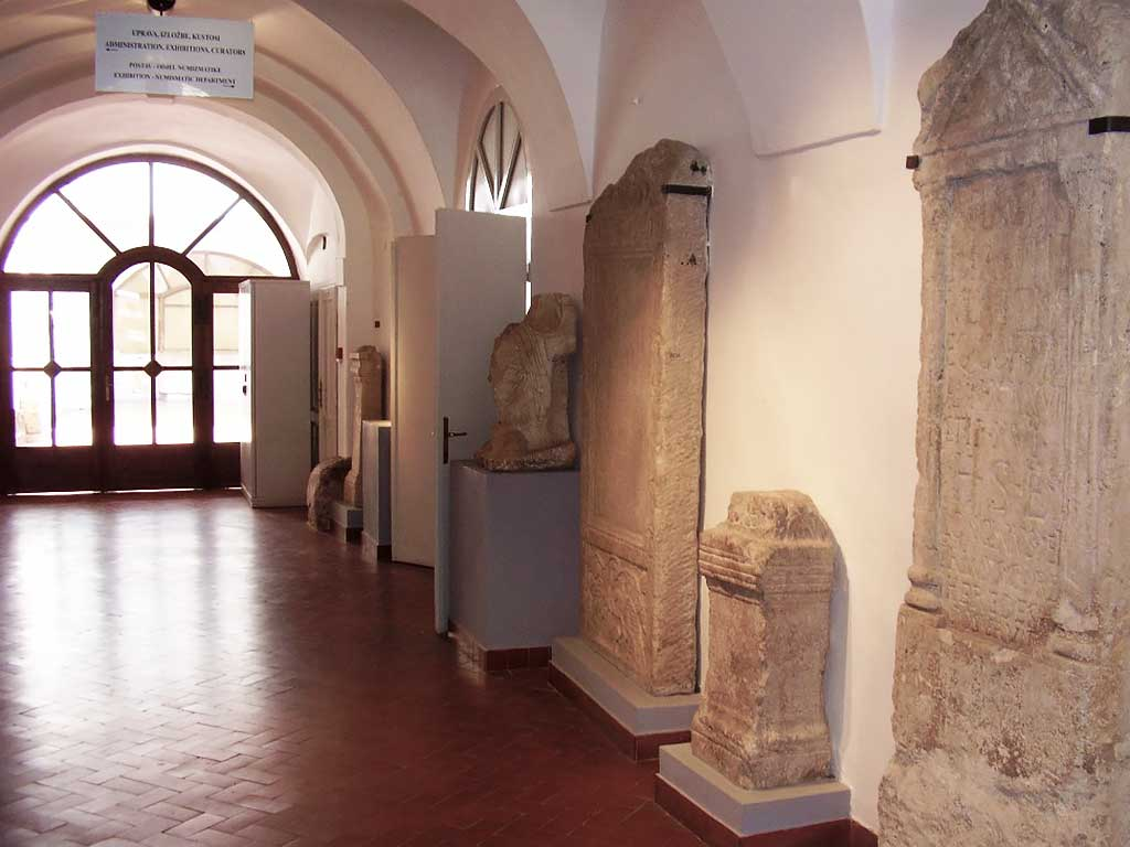 Osijek - Roman monuments in the Museum of Slavonia (Vukmanic 2009)