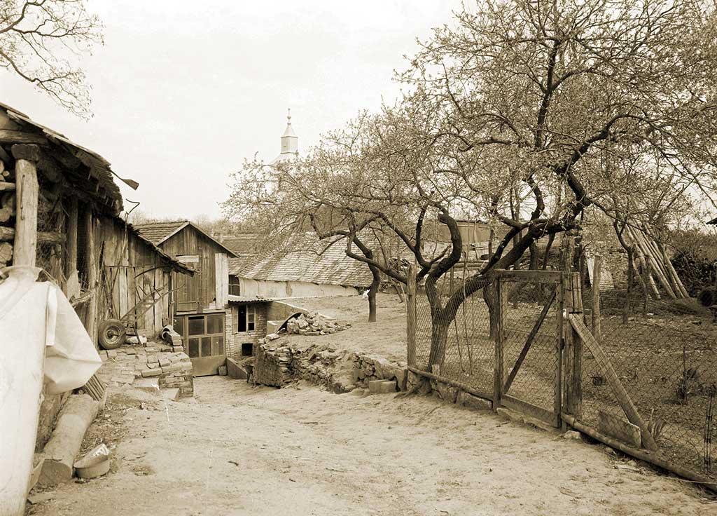 Kamenac - Former Roman site in 1978 (Konzervatorski odjel Osijek 1978)