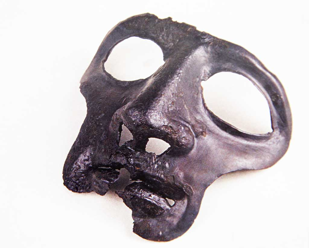 Sotin - Parade mask of the Roman helmet (Arheološki muzej u Zagrebu 2008)