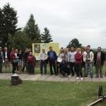 Sudionici Pete Danube Limes Brand radionice u Batini (Dujmić 2014)
