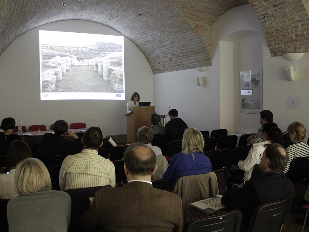 Danube Limes Brand workshop in the Museum of Slavonia (Dujmić 2014)
