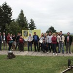 Participants of the 5th Danube Limes Brand workshop in Batina (Dujmić 2014)